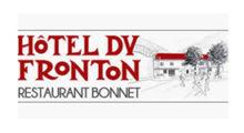 logo hôtel du fronton et restaurant bonnet client de Carole photographe saint palais