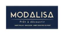 logo de modalisa prêt à porter à saint palais shooting de Carole photo 64