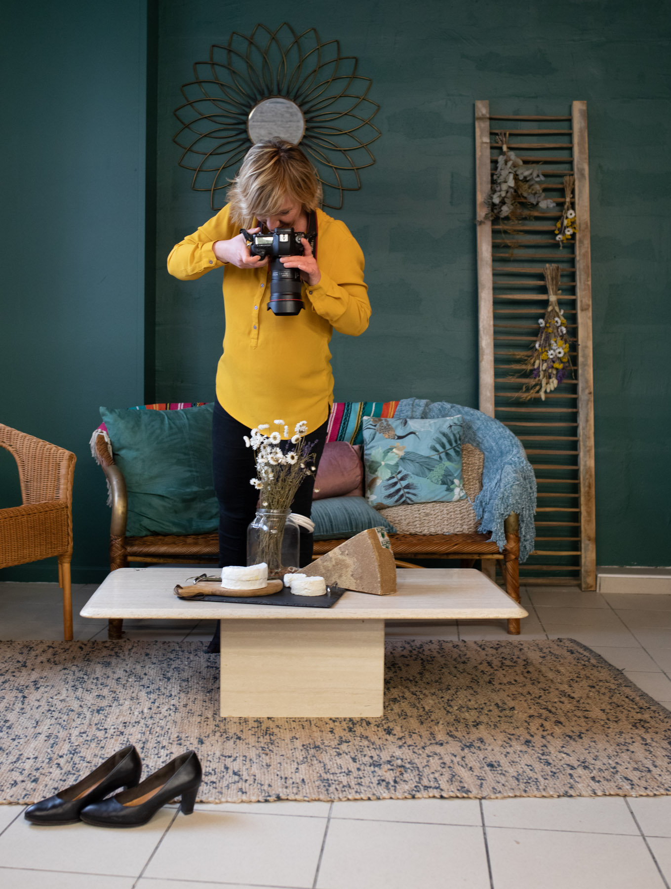 carole photographe en reportage entreprise commerce
