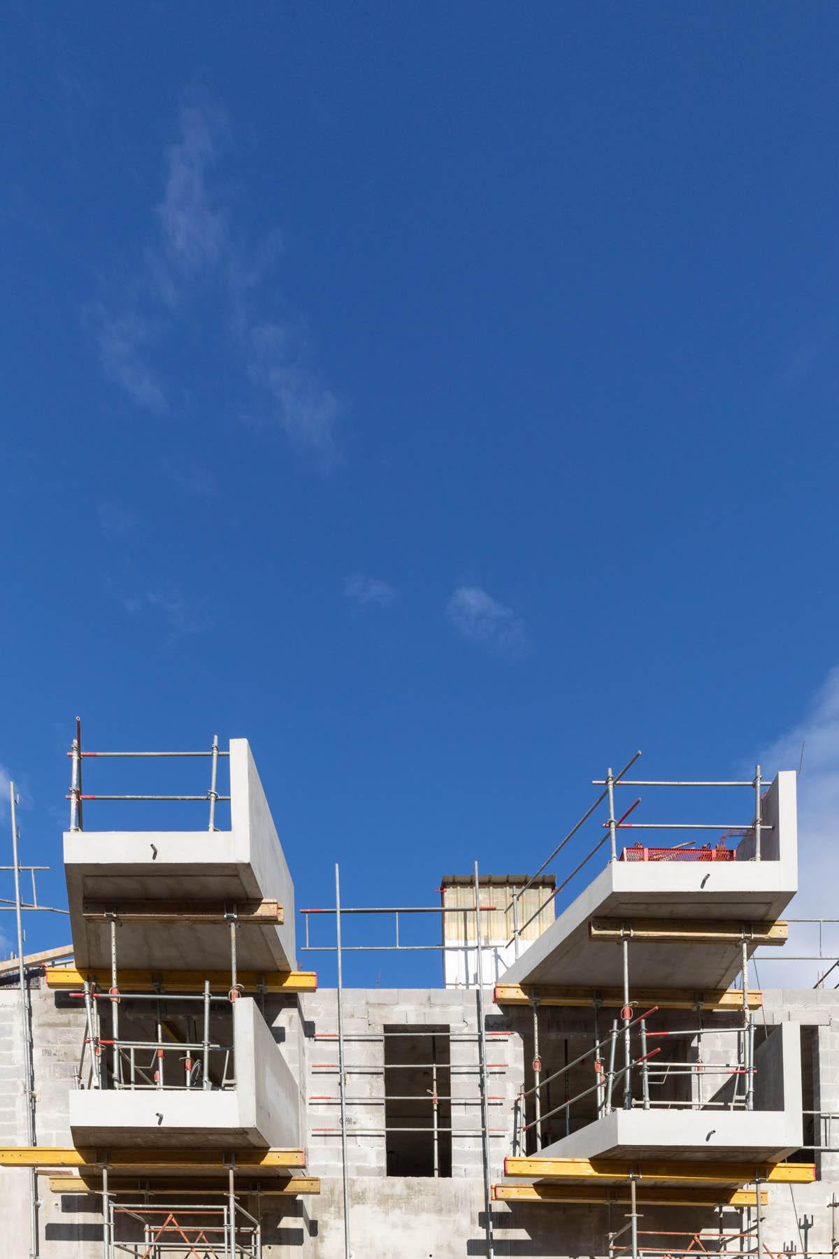 photo de suivi de chantier au pays basque par Carole photographe d'entreprise